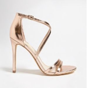 Forever21 golden heels. New without tags!!!